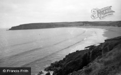 Freshwater East, Trewent Point 1959