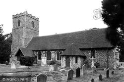 St Peter's Church c.1955, Freston