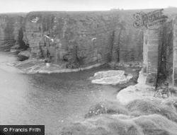 Freswick, From Bucholie Castle 1952