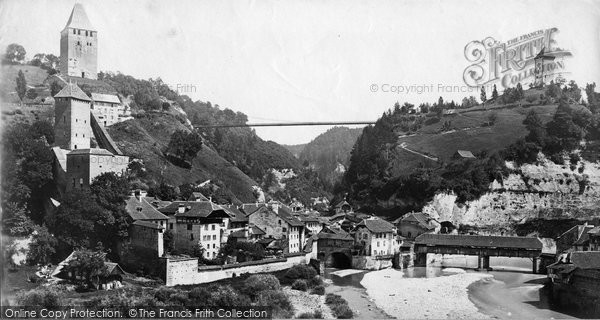Photo of Fribourg, c.1875