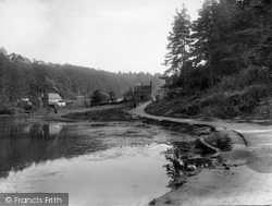Friday Street, River Tillingbourne And Village 1929