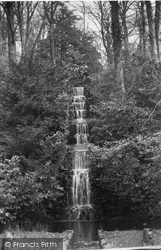 Friday Street, Tillingbourne Waterfall 1890