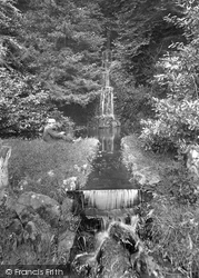 Friday Street, Tillingbourne Waterfall 1904