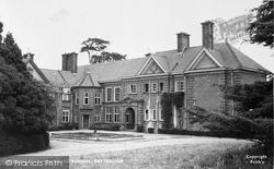 Frilsham, Frilsham House School c.1960