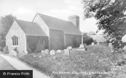 Frilsham, St Frideswide's Church c.1960