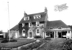 Frimley, Cottage Hospital 1925