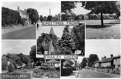 Frimley Green, Composite c.1955