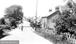 Frimley Green, Guildford Road 1927