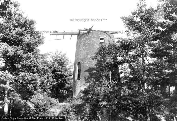 Frimley,Old Windmill 1906,Surrey