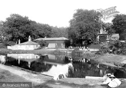 Frimley Green, On The Canal 1909