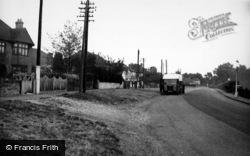 Frimley Green, Road c.1955