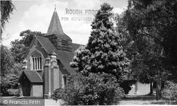 Frimley Green, St Andrew's Church c.1955