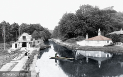 Frimley Green, The Canal And New Boathouse 1909