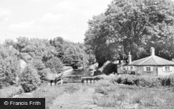 Frimley Green, The Canal c.1955