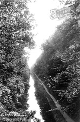 Frimley Green, The Canal From Deepcut Bridge 1909