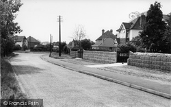 Frimley Green, The Hatches c.1955