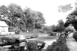 Frimley Green, The Lock 1906
