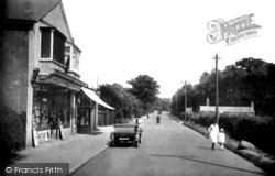 Frimley Green, Wharf Road 1927