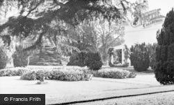 Frimley, Park, Flower Gardens c.1955