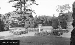 Frimley, Park, The Gardens c.1955