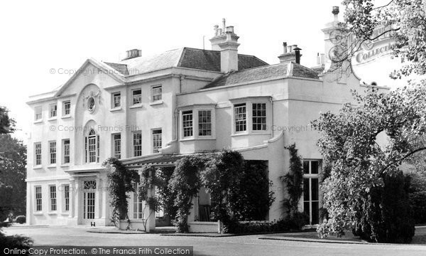 Frimley The House Park C1955 Reproduced Courtesy Of