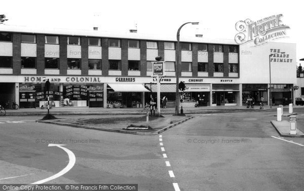 Photo of Frimley, the Parade c1965