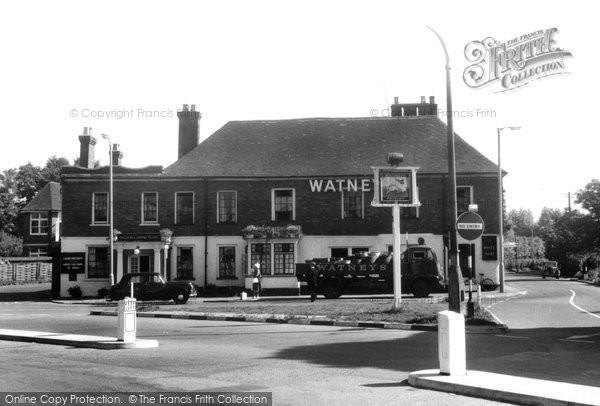 Frimley, the White Hart c1955