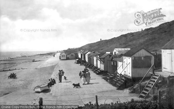 Frinton-on-Sea, Beach 1921.  (Neg. 70303)  � Copyright The Francis Frith Collection 2007. http://www.francisfrith.com
