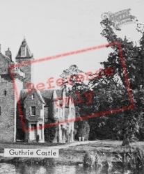 Guthrie Castle c.1960, Friockheim