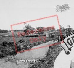 Kinnell Bridge c.1960, Friockheim
