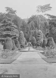 Frodsham, Castle Park c.1955