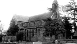 Frogmore, Holy Trinity Church c.1955