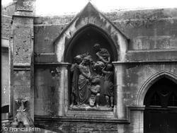 Frome, St John's Church, The Via Crucix c.1900