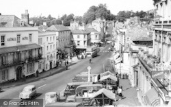 Frome, The Market Place 1964
