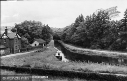 Froncysyllte, Canal c.1955