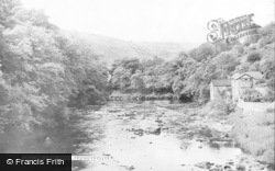 Froncysyllte, The River c.1955