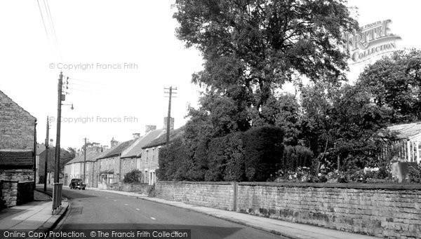 Photo of Frosterley, Front Street c.1955