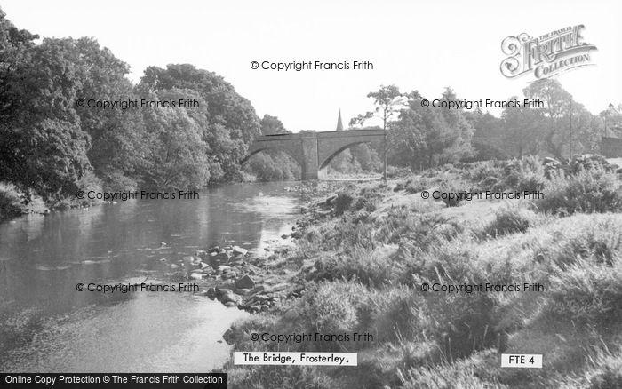 Photo of Frosterley, The Bridge c.1955