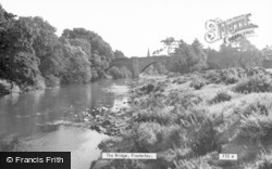 The Bridge c.1955, Frosterley