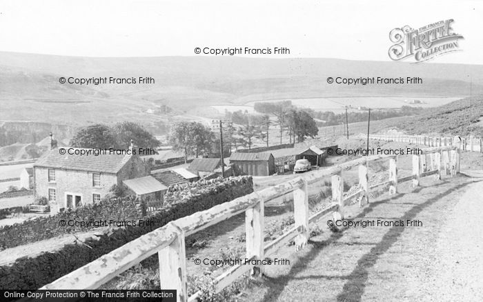 Photo of Frosterley, The Moors c.1955