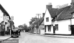 Fulbourn, High Street 1952
