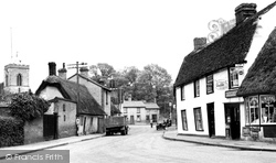 Fulbourn, High Street c.1950