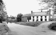 Fulbourn, Manor Walk c1950