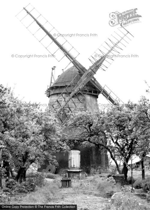 Fulbourn,the Old Mill c1950,Cambridgeshire