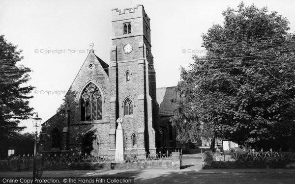 Photo of Fulford, St Oswald's Church c.1960