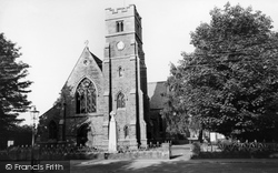 Fulford, St Oswald's Church c.1960