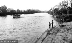 Fulford, The River Ouse c.1960