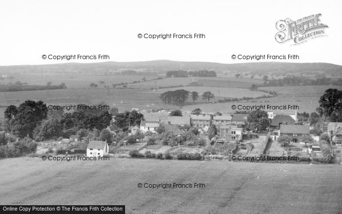 Photo of Fulking, From Dyke Hills c.1965