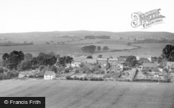 Fulking, From Dyke Hills c.1965