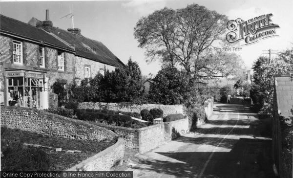 Photo of Fulking, High Street c.1950